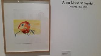 Anne Marie Schneider au Mam Paris