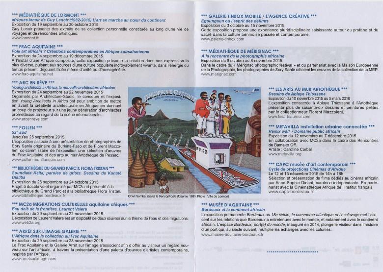 Programme Afrique contemporaine 2