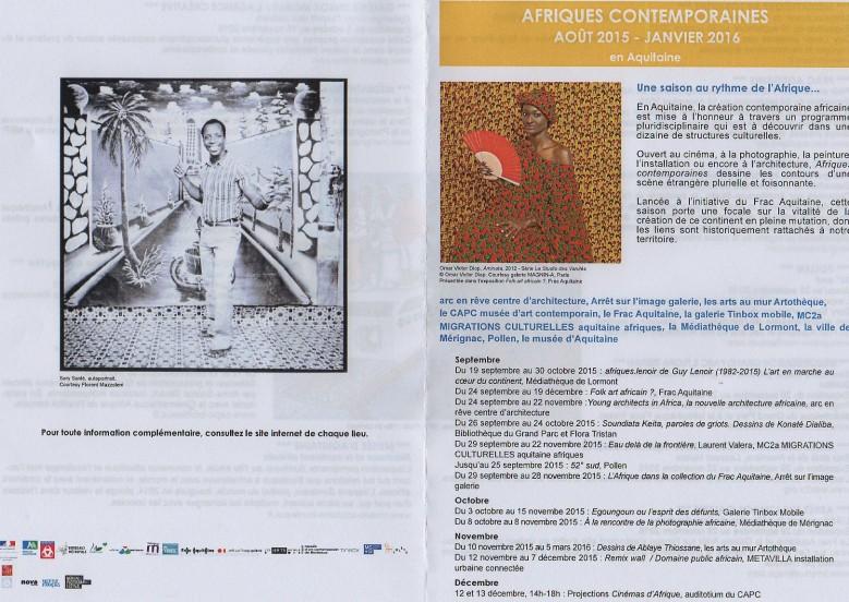 Programme Afrique contemporaine