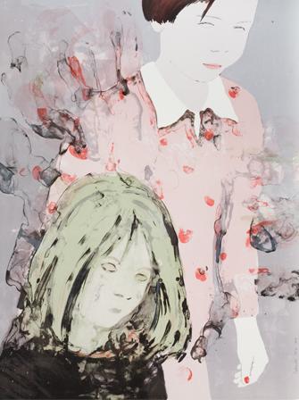 Françoise Petrovich - LES SOEURS, 2014-Lithographie sur papier 103 x 77,5 cm- 3 ex -1200€